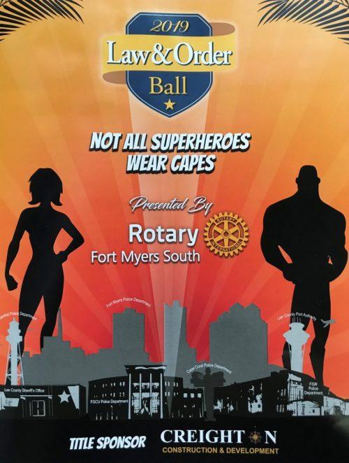 Law & Order Ball Program